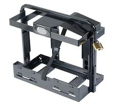 Ark FRONT ENTRY JERRY CAN HOLDER Steel, Padlock & Adjustable Height *Aust Brand