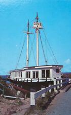 Marion Elizabeth Restaurant Margaree Harbour Nova Scotia NS Vintage Postcard D33