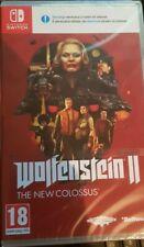 WOLFENSTEIN 2 : THE NEW COLOSSUS NINTENDO SWITCH precintado español
