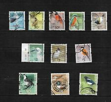 Hong Kong  2006 Birds, selection to $20 used,  (7597)