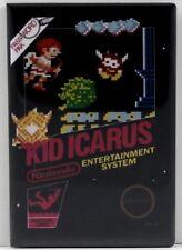 "Kid Icarus Game Box 2"" X 3"" Fridge / Locker Magnet. NES"