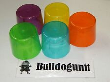2008 Partini Board Game Replacement 5 Plastic Cup Parts Only
