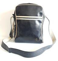 FRED PERRY Authentic Men's Messenger Classic Shoulder Bag Black / Ecru