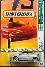 Matchbox Metro Rides #26 '08 Honda Civic Type R Silver