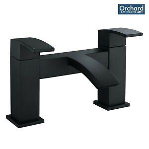 [25% OFF] Orchard Wye black bath mixer tap