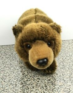 "Webkinz Ganz 12"" Plush Signature Endangered Species Brown Bear WKSE3006 No Code"