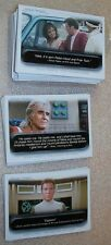 STAR TREK - QUOTABLES  - Complete Trading Card Set Quotes
