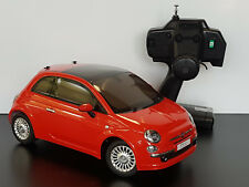 "TAMIYA RTR ""FIAT 500"" PROFI RC-CAR IN ROT, MAßSTAB 1:10 (35CM) M03M # 57787"