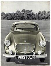 Bristol 406 1959-61 UK Market Foldout Sales Brochure