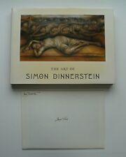 ARTIST GEORGE TOOKER OWNED BOOK SIMON DINNERSTEIN PRESENTATION COPY