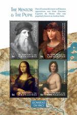 St. Vincent 2019  painting of Leonardo Da Vnci, Mona Lisa  I201903