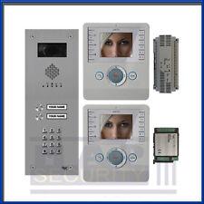 BPT - 2 vie Video Citofono Porta Sistema di ingresso 2X Monitor e pannello a prova vandalo