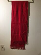 Banana Republic Merino Wool Red Scarf