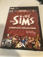 The Sims: PC CD-ROM Collection   Discs 2, 3 & 4   w/ Manual   Missing Disc 1