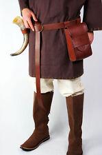 Mittelalter Gürteltasche Mittelaltertasche Leder Tasche Ledertasche für Gürtel