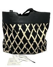 PROENZA SCHOULER 'PAPER BAG' TOTE IN PRINTED CANVAS, $1150