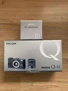 PENTAX Q-S1 12.4MP DIGITAL  CAMERA KIT