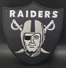 Oakland Raiders~Embroidered Iron On Patch~Free Shipping from the USA~