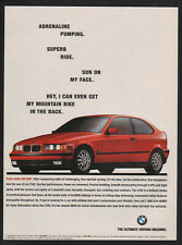 1995 BMW 318ti Red Sports Car - Adrenaline Pumping Superb Ride VINTAGE AD