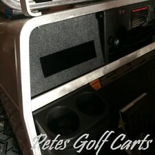 CLUB CAR DS Golf Cart Radio Dash Plate Console use to Install Stereo In Cart