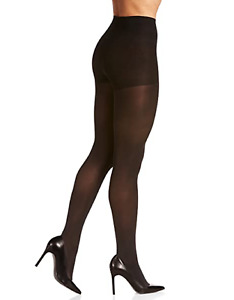 Berkshire Dark Grey Easy On Women's 40 Denier Tights Size 1X/2X