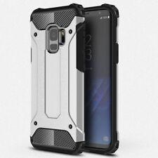 Outdoor Hybrid Handy Tasche Schutz Hülle Silikon Case Cover Galaxy S9 Plus DECC