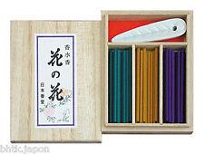 NIPPON KODO - Encens Japonais - HANA NO HANA 60 bâtons + coffret + porte encens