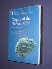 Teaching Co Great Courses CDs     ORIGINS OF THE HUMAN MIND    newest release