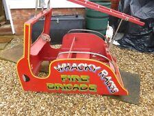 More details for vintage fire engine fairground carousel ride