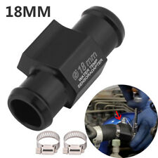 18mm CNC Water Temp Temperature Gauge Joint Pipe Radiator Sensor Adaptor Clamps