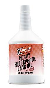 REDLINE Getriebeöl Heavy Shockproof Getriebe- und Differentialöl US Quart 0,95 L