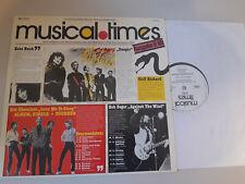 LP VA EMI Musical Times 9/80 (12 Song) Promo EMI ELECTROLA Iron Maiden Kate Bush