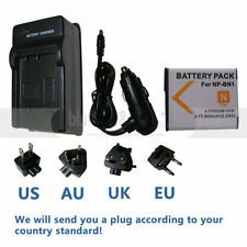 NP-BN1 Battery + charger for Sony NPBN1 Cyber-shot DSC-TX7 DSC-TX5 DSC-W350