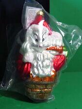 Christopher Radko Warner Bros Santa Bugs Ornament SEALED Limited Edition