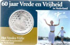 5 EURO PAYS-BAS 2005 UNC - 60 ANS DE PAIX ET DE LIBERTE