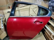 JAGUAR XF LEFT DRIVER SIDE REAR DOOR SHELL