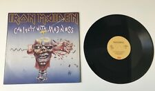 """IRON MAIDEN Can I play with madness 12"""" maxi single Italy 1988 yellow label RARE"""