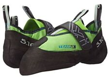 ROCK CLIMBING SHOES BRAND NEW FIVE TEN TEAM VXI SIZE 10 BLACK AND GREEN