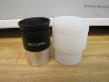 "1.25"" 12.5mm Plossl Telescope Eyepiece Coated Lenses Filter Threads Plastic Case"