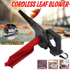 Cordless Blower Vacuum Leaf Dust Tool Yard Gardens For Makita 18V Li-ion Battery