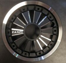 "Wheel split rim 10"" spoke effect alloy black Vespa PX by F.A. Italia"