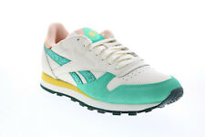 Reebok Classic Leather FZ3063 Mens White Leather Lifestyle Sneakers Shoes