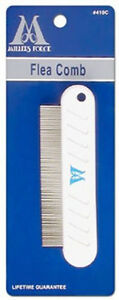"""MILLERS FORGE PALM 4 1/2"""" FLEA COMB COMFORT FOR FLEAS & EGGS FREE SHIP USA ONLY"""