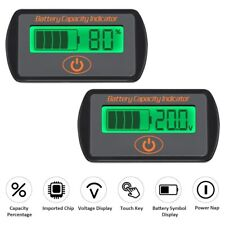 Battery Voltage Capacity Indicator SOC Combo Volt Meter State Of Charge Status