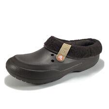 Crocs Men's Size 11 Blitzen ll Slip On Clog Removable Lining Brown Espresso