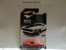 Hot Wheels 50 Years of Mustangs Red 1971 Ford Mustang Mach 1