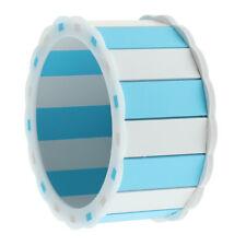 New Hamster Hedgehog Chinchilla Guinea Pig Exercise Wheel Light Blue White