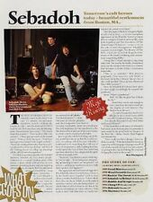 Sebadoh 'Mojo' Interview Clipping