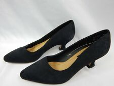 Nos Vintage 1980s Corelli Black Baroque Pumps Shoes Art Nouveau Retro Heels 6