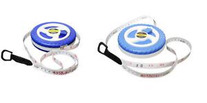 Fiberglass Tape Measure Builders Surveyors Long Reel Roll Measuring Tape 20m&30m